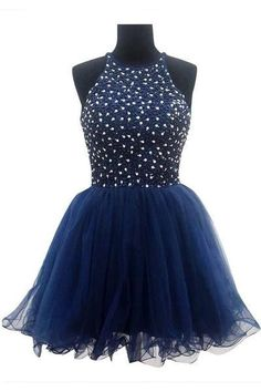 Ball Gown Navy Blue Prom Dresses Homecoming Dresses Sexy Bridesmaid Dress ,Cheap Prom Dress