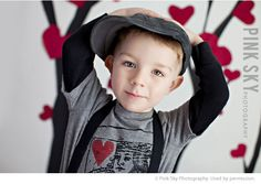 I Heart Faces Valentine Posing Ideas for Kids