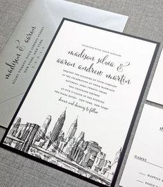 New York Skyline Invitation