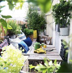 Rue Verte, Le Jolie, Terrace Garden, Apartment Living, My Dream Home, Decoration, Home Improvement, Sweet Home, Instagram