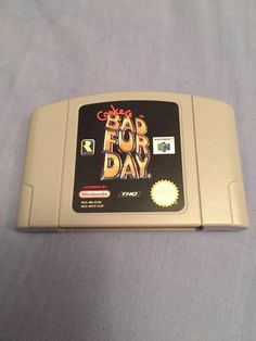 Conkers Bad Fur Day Nintendo 64 N64 Rare !!