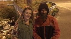 A young woman has raised over $318,000 for a homeless man who, she said, spent his last $20 to buy her gas after she became stranded on a major interstate. (VIDEO)