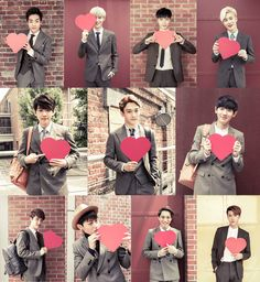 EXO with a heart <3