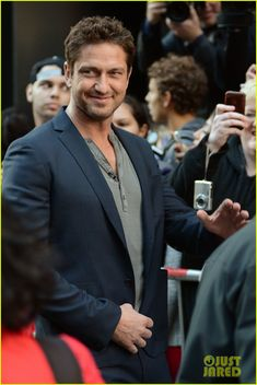 Gerard Butler: 'Good Morning America' Appearance!