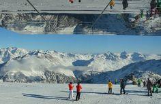 Sölden - Filmpanorama zum Skifahren. Unser Travelpost im Januar: eine Mega- Gletscherkulisse, der perfekte Wintersportort in Österreich mit viel Après Ski.