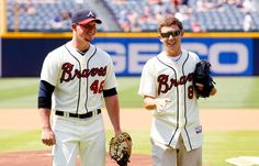 Scottys cute but the baseball player next to him is a hunk!!!!