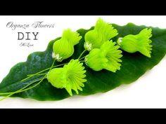 Nylon Flowers, Organza Flowers, Plastic Flowers, Felt Flowers, Fabric Flowers, Paper Flowers, Ribbon Jewelry, Ribbon Art, Diy Ribbon