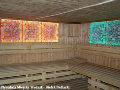 Kryształowy Świat,salt sauna