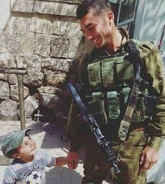 Via @idftweets The beautiful humans of the #idf. Our soldiers are #human beings…