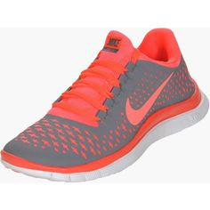 Nike Free 3.0 V4 Women's Running Shoes ($80) ❤ liked on Polyvore