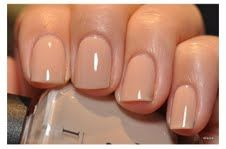OPI Salmon Sand - My kind of color. I'm such a ''plain Jane'' when it comes to nail color.
