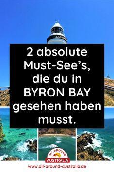 Über den Link gelangst du zu zwei absoluten Highlights, die du in Byron Bay gesehen haben musst #australien Brisbane, Sydney, Highlights, Roadtrip, Byron Bay, Australia, Link, Blog, Australia Tourist Attractions