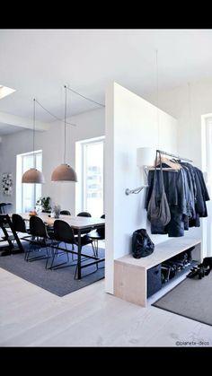 Scandinavian style // Copenhagen loft in black, grey and blue Home Interior, Interior Architecture, Interior Decorating, Interior Design, Home Design, Loft, Deco Design, My New Room, Home Decor Inspiration
