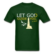 LET GO! · Starting at ONLY $19.99 · Let God Guide You... LET GO! This is the men's style of this shirt, a women's is available also. It is available with or without the whimsical design and is available on multiple style's of shirts with multiple color choices. Grab yours today! :)