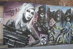 Hartford Jazz, Montreal graffiti por richards19999 en Flickr