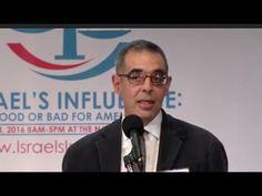 Conference on Israel's influence: Justin Raimondo #WarOnStupid #EducatingWhitey