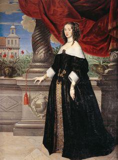 Anna Margareta von Haugwitz by Anslem van Hulle, 1649