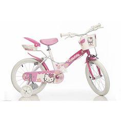 Hello Kitty Bike - 14 inch Wheels   Kids Bikes   ASDA direct