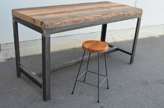 It's happy hour!!! Drinks are served on the Old London Collection Industrial reclaimed Baltic pine bar table at The General Store Furniture and Homewares, Osborne Park
