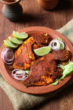 karimeen is a popular and tasty fish and a favorite fish of Keralites,Today's recipe is a delicious Kerala style karimeen fry. Karimeen marinated in spicy red chili, lime juice and other ingredient's.Then deep fried until brown.It is a spicy fish delicacy.  the fresh water karimeens/pearl spots are