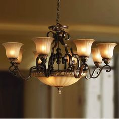 Wrought Iron Lighting | Europe classical Aisle lamps,wrought iron New Pendant Light,Chandelier ...