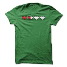 Hearts Depleted T Shirts, Hoodies. Get it now ==► https://www.sunfrog.com/Gamer/Hearts-Depleted.html?41382