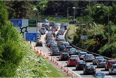 Exeter's roads are used to being congested with traffic, but never before have they had to cope with such an unprecedented amount of visitors flocking to the city as it has this month.  Devon County...