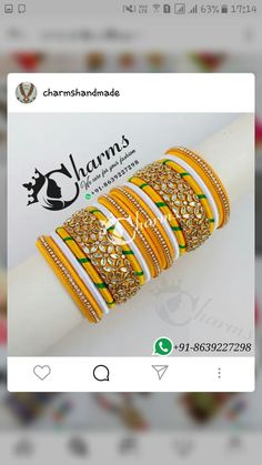 Silk Thread Bangles Design, Silk Bangles, Silk Thread Earrings, Thread Jewellery, Jewelry, Bijoux, Jewlery, Jewels, Jewelery