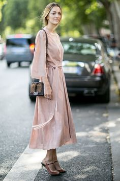 The Parisian Street Style at Couture Fashion Week Will Make Your Heart Flutter