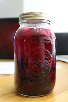 Beet Kvass and Lacto-Fermented Beets