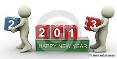 Lets say  Good bye 2012 and Welcome to 2013    Wish you and your family a very very happy and prosperous new year.......