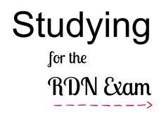 Registered Dietitian Nutritionist Exam - Study Materials