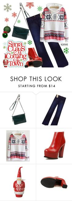 """""""Merry Christmas!!!"""" by ansev ❤ liked on Polyvore featuring HOBO, Dolce&Gabbana and Dot & Bo"""