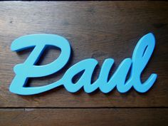 Holzbuchstaben - Name oder Schriftzug nach Wunsch - ein Designerstück von Designsouris bei DaWanda