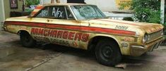 Old Ramchargers race car.