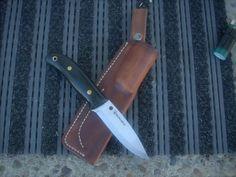 spyderco bushcraft leather sheath - Google Search
