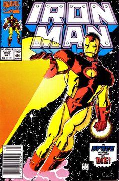 Iron Man # 256 by John Romita Jr. & Bob Layton