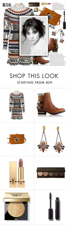 """""""Autumn Colors with Dezzal"""" by anarita11 ❤ liked on Polyvore featuring SOREL, Yves Saint Laurent, Bobbi Brown Cosmetics, Chanel, autumn, Autumncolors and dezzal"""