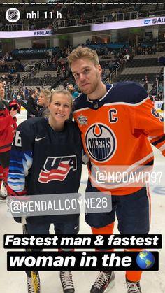 NHL All Star Weekend San Jose, California January 2019 Captain Connor Connor Mcdavid, Fastest Man, Ice Ice Baby, Edmonton Oilers, Study Motivation, Hockey Players, Ice Hockey, Nhl, All Star