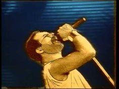 "Queen - Innuendo Number One 26 Jan 1991 1 week No 1 Their first chart topper for 10 years, and taken from their album ""Innuendo"". Freddie Mercury, August Rush, Freddie Highmore, Music Songs, My Music, Music Videos, Jukebox, Pink Floyd, Queen Videos"