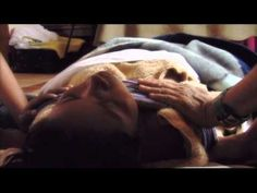 Postpartum closing cycle ceremony (mother roasting) with Rebozo - YouTube