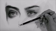 درس تظليل بورتريه بالفحم / shading a portrait (charcoal)