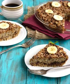 This Date & Banana #Quinoa Breakfast Bake is healthy, easy and perfect for a quick make-ahead #breakfast! #glutenfree  - Food Faith Fitness