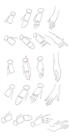 Mischief Managed — How to draw hands | Fashion Drawing | Templates...