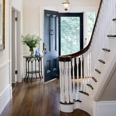 """1,151 Likes, 9 Comments - Dering Hall (@deringhall) on Instagram: """"An inviting entryway by @hutharchitects. #DiscoverOrganizeConnect"""""""