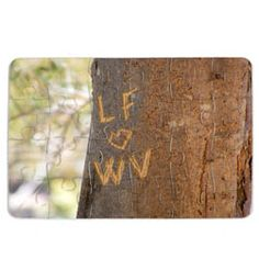 Personalised Tree Carving Jigsaw Large  http://www.treather.com/product/Personalised-Tree-Carving-Jigsaw-Large