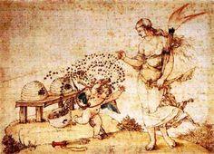 Vénus, Eros et les abeilles