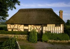 A fourteenth century hall-house acquired by the National Trust in 1896.