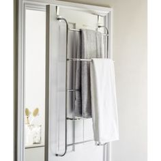 Lakeland Over Door Hanging Clothes Airer Or Towel Rack - Ideal For Bathrooms Heated Clothes Airer, Laundry Solutions, Girl Bathrooms, Drying Rack Laundry, Hanging Clothes, Closet Bedroom, Master Bedroom, Bathroom Towels, Closet Organization