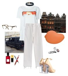 """""""why so serious"""" by syarina ❤ liked on Polyvore featuring Maison Margiela, Jacquemus, Chloé, Miu Miu, Ann Demeulemeester, Yves Saint Laurent, Diana Vreeland Parfums and Iosselliani"""